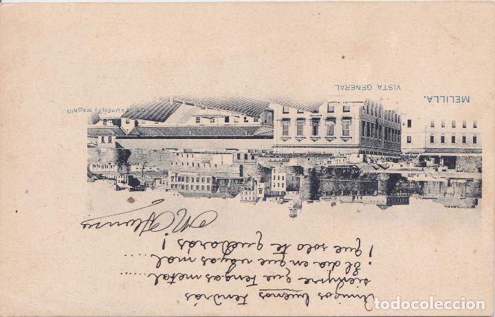MELILLA - VISTA GENERAL (Postales - España - Melilla Antigua (hasta 1939))