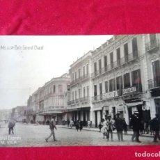 Postales: W.- 25.- POSTAL FOTOGRAFICA DE-- MELILLA .- CALLE GENERAL CHACEL.- POSTAL EXPRES -M. VILA CIRCULADA. Lote 194217997