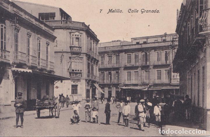 MELILLA - CALLE GRANADA (Postales - España - Melilla Antigua (hasta 1939))