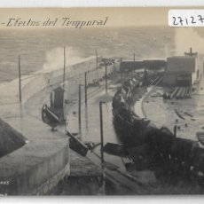 Postales: MELILLA - EFECTOS DEL TEMPORAL - P27127. Lote 194490550