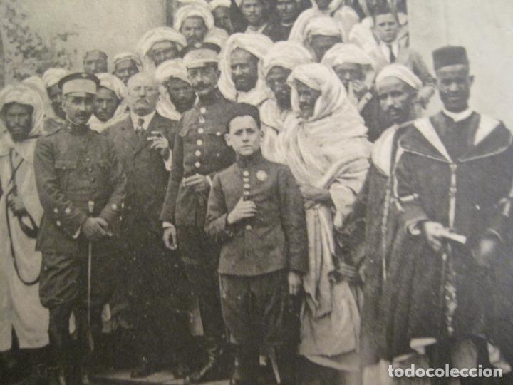 Postales: CENTROS COMERCIALES HISPANO MARROQUIES-MOROS SALIENDO DE LA EXPO DE MELILLA-POSTAL ANTIGUA-(67.882) - Foto 3 - 194724781