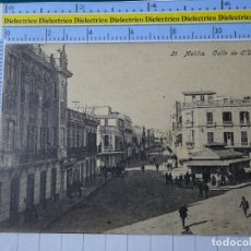 Postales: POSTAL DE MELILLA. AÑOS 10 30. CALLE DE O'DONNELL. 21 BOIX. 103. Lote 195243732