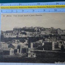 Postales: POSTAL DE MELILLA. AÑOS 10 30. TESORILLO VISTA TOMADA DESDE EL FUERTE CAMELLOS. 14 BOIX. 109. Lote 195244052