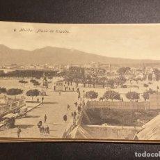 Postales: POSTAL DE MELILLA. EDICION BOIX HERMANOS. SIN CIRCULAR. PLAZA DE ESPAÑA.. Lote 195522472
