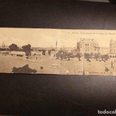 Postales: POSTAL DE MELILLA. EDICION BOIX HERMANOS. SIN CIRCULAR. VISTA GENERAL DE LA PLAZA ESPAÑA.. Lote 195522822