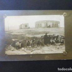 Postales: MELILLA FUERTE DE SAN LORENZO EXCAVACIONES ARQUEOLOGICOS HACIA 1914 FIRMADA M. DE ELIZAICIN . Lote 196150067