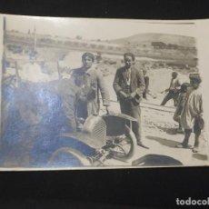 Postales: POSTAL MARRUECOS CAMPAÑA AFRICA NIÑOS JUNTO VEHICULO GUILLEMINOT NO INSCRITA NO CIRCULADA. Lote 196819223