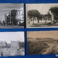 Cartes Postales: W-40.- LOTE DE - 4 - POSTALES DE -- MELILLA -- DIFERENTES LUGARES DE LA POBLACION . VER FOTOS. Lote 197213228