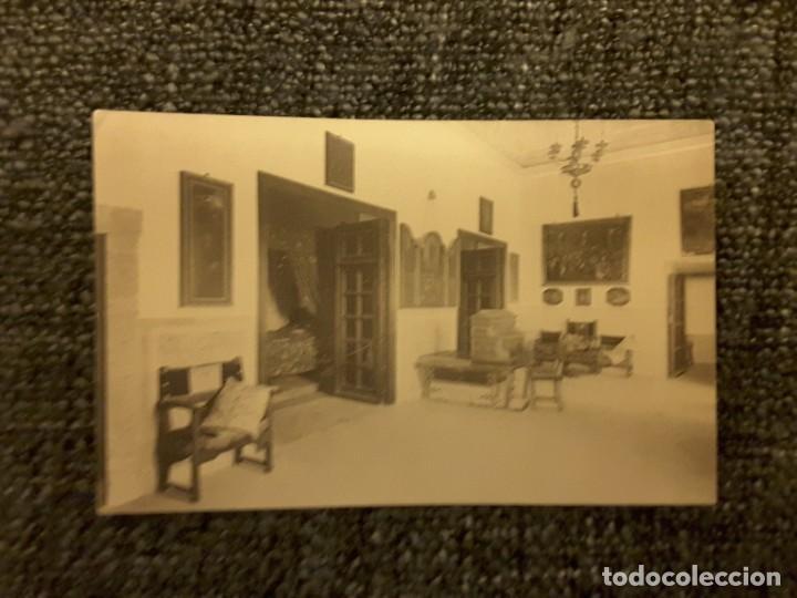 POSTAL EL ESCORIAL PALACIO REAL HABITACIONES FELIPE II DORMITORIO HIJA M PALOMEQUE (Postales - España - Melilla Antigua (hasta 1939))