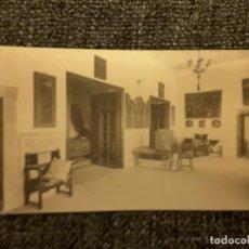 Postales: POSTAL EL ESCORIAL PALACIO REAL HABITACIONES FELIPE II DORMITORIO HIJA M PALOMEQUE. Lote 197649885