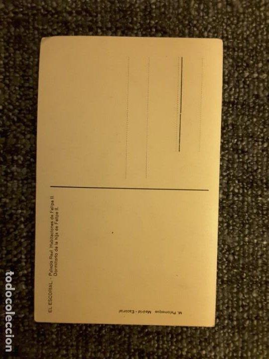 Postales: postal el Escorial palacio real habitaciones FELIPE II dormitorio hija m PALOMEQUE - Foto 2 - 197649885