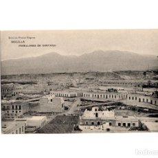 Postales: MELILLA.- PABELLONES DE SANTIAGO.. Lote 198192386