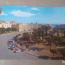 Postales: MELILLA - PLAZA DE ESPAÑA - AÑO 1963. Lote 198284236