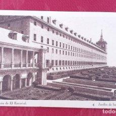 Postales: POSTAL ANTIGUA- MONESTERIO DE EL ESCORIAL- 4- JARDIN DE LOS FRAILES. Lote 198546658