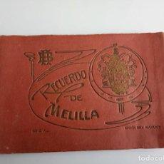 Postales: MELILLA, POSTALES COLOR, SERIE A. EDC. BOIX HERMANOS, LIBRERIA POSTAL MODERNO. Lote 198589361