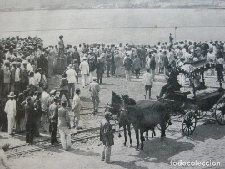 MELILLA-ESPERANDO LA LLEGADA DEL CAPITAN RAMAJOS MUERTO-ED·RIF-18-POSTAL ANTIGUA-(69.348) (Postales - España - Melilla Antigua (hasta 1939))