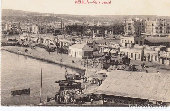 MELILLA VISTA PARCIAL. ED. BOIX HNOS. MELILLA (Postales - España - Melilla Antigua (hasta 1939))