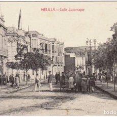 Postales: MELILLA CALLE SOTOMAYOR. ED. BOIX HNOS. MELILLA. Lote 203188307
