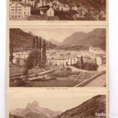 Postales: SALLENT 10 POSTALES RESTO DE BLOC. Lote 203577873