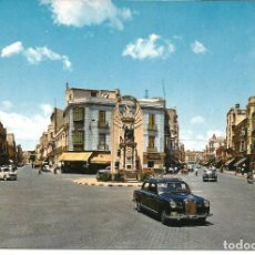 Postales: POSTAL MELILLA - AVENIDA GENERALISIMO Y O´DONELL - CON GUARDIA URBANO - FISA 1964. Lote 203726443