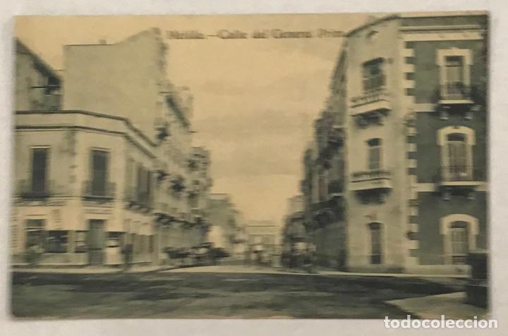 MELILLA. CALLE DEL GENERAL PRIM. 9 X 14 CM. (Postales - España - Melilla Antigua (hasta 1939))