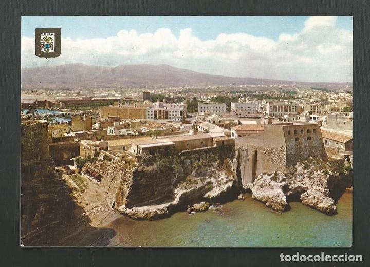 POSTAL SIN CIRCULAR - MELILLA 23 - PLAYA DE LOS GALAPAGOS Y MONTE GURUGU - EDITA ESCUDO DE ORO (Postales - España - Melilla Moderna (desde 1940))