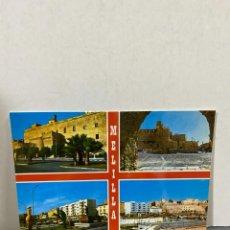 Postales: TARJETA POSTAL. MELILLA. 2. BIS. VISTAS PARCIALES. EXCLUSIVAS CARMAR.. Lote 213236435