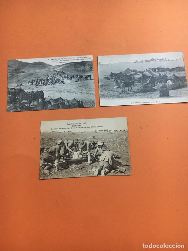 CAMPAÑA DE MELILLA -TÁNGER- CAMPAÑA DEL RIF (Postales - España - Melilla Antigua (hasta 1939))