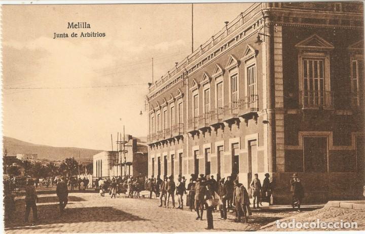 MELILLA Nº 151 JUNTA DE ARBITRIOS POSTAL EXPRES S.C. (Postales - España - Melilla Antigua (hasta 1939))