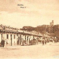 Postales: MELILLA Nº 115 MURO X POSTAL EXPRES SIN CIRCULAR. Lote 213694471