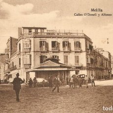 Postales: MELILLA 108 C. ODONELL Y ALFONSO XIII POSTAL EXPRES S.C.. Lote 213694942