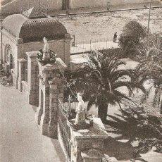 Postales: MELILLA - ENTRADA AL PARQUE HERNANDEZ BOIX HNS. S.C.. Lote 213710661