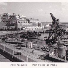 Postales: MELILLA FLOTA PESQUERA. ED. FOTO IMPERIO Nº 10. ESCRITA. Lote 213895605