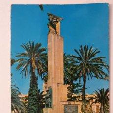 Cartes Postales: MELILLA - PLAZA DE ESPAÑA - MONUMENTO AL SOLDADO DESCONOCIDO - LMX - MEL. Lote 214725771