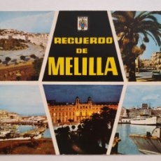 Cartes Postales: MELILLA - VISTAS - LMX - MEL. Lote 214727003