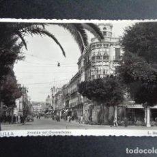 Postales: POSTAL MELILLA. AVENIDA DEL GENERALÍSIMO. ROISIN.. Lote 217996736