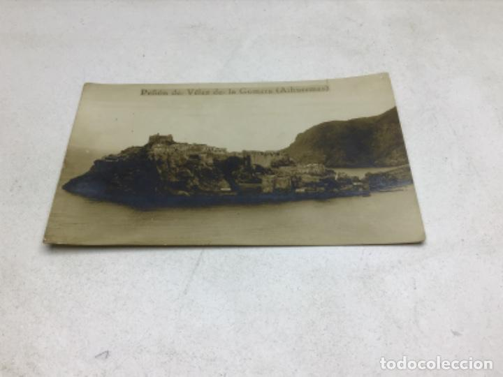 POSTAL FOTOGRAFICA PEÑON DE VELEZ DE LA GOMERA - ALHUECEMAS MARRUECOS (Postales - España - Melilla Antigua (hasta 1939))