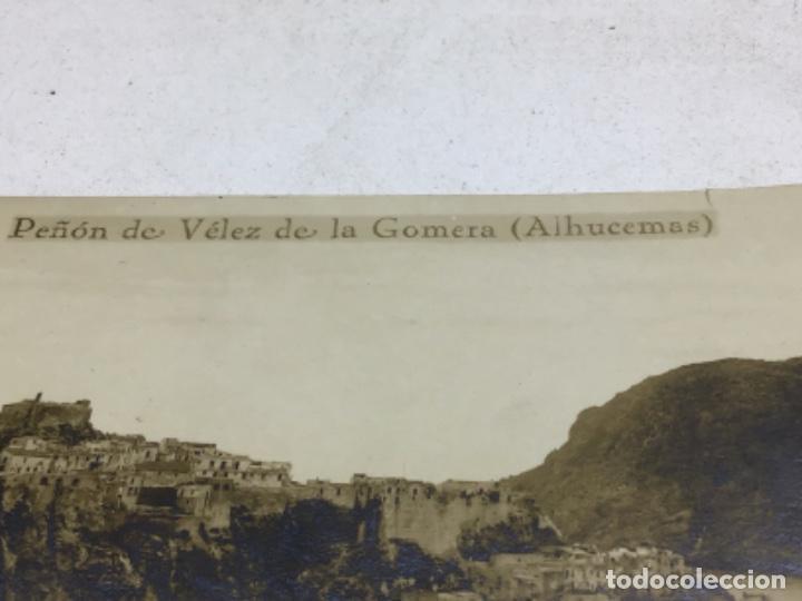 Postales: POSTAL FOTOGRAFICA PEÑON DE VELEZ DE LA GOMERA - ALHUECEMAS MARRUECOS - Foto 4 - 218505055