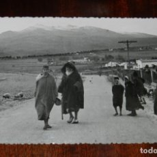 Postales: FOTO POSTAL DE MELILLA, N. 34, GURUGU NEVADO, ED. ANAVIARTE, NO CIRCULADA.. Lote 218741110