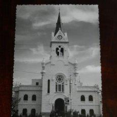 Postales: FOTO POSTAL DE MELILLA, N. 57, IGLESIA DEL SAGRADO CORAZON DE JESUS, ED. ANAVIARTE, NO CIRCULADA.. Lote 218742951