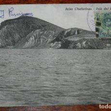 Cartoline: POSTAL DE LAS ISLAS CHAFARINAS. ISLA DEL CONGRESO. FRANQUEADA EN LAS ISLAS, EDC, BOIX HNOS-MELILLA.. Lote 219126037