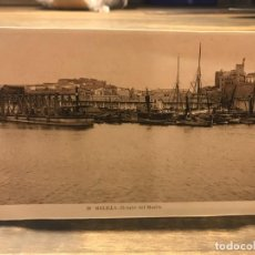 Cartes Postales: POSTAL DE MELILLA - DETALLE DEL MUELLE - 14 CM X 9 CM - FOTOGRAFO L. ROISIN. Lote 219429235
