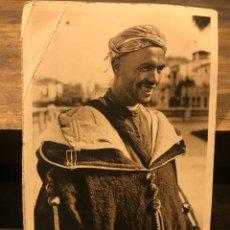 Cartes Postales: POSTAL DE MELILLA - MORO TIPICO - 14 CM X 9 CM - FOTOGRAFO L. ROISIN. Lote 219429388