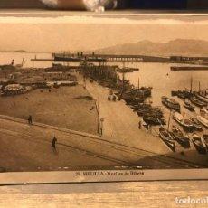 Cartes Postales: POSTAL DE MELILLA - MUELLES DE RIBERA - 14 CM X 9 CM - FOTOGRAFO L. ROISIN. Lote 219429546