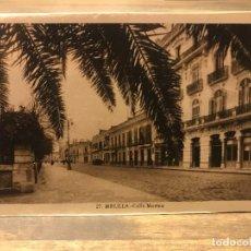 Cartes Postales: POSTAL DE MELILLA - CALLE MARINA - 14 CM X 9 CM - FOTOGRAFO L. ROISIN. Lote 219429651