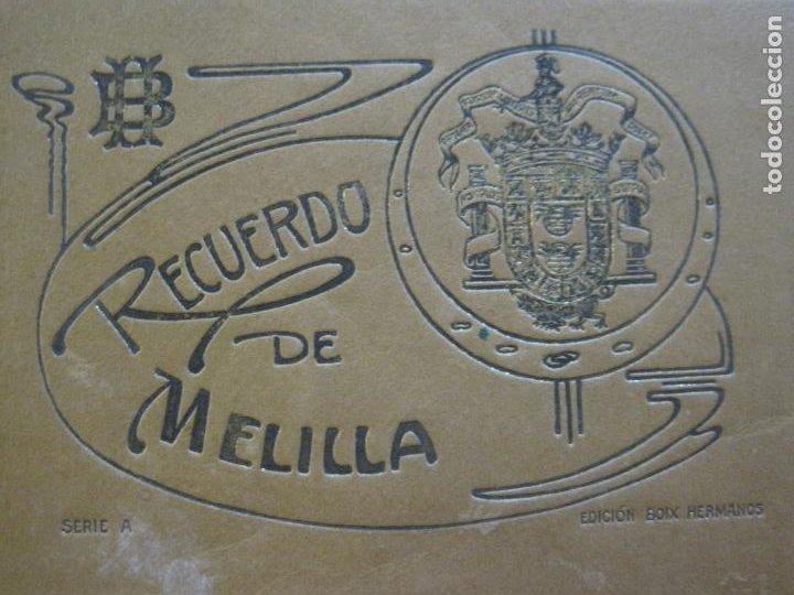 Postales: MELILLA-BLOC DE FOTOGRAFIAS-SERIE A-EDICION BOIX HERMANOS-VER FOTOS(K-559) - Foto 2 - 219431091