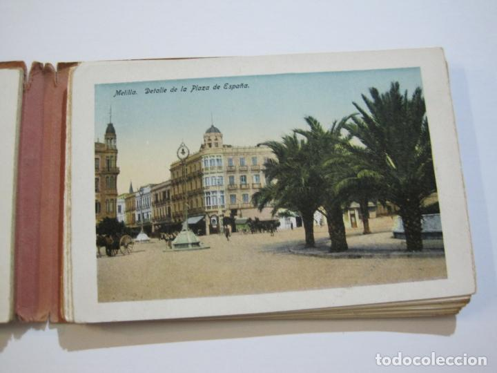 Postales: MELILLA-BLOC DE FOTOGRAFIAS-SERIE A-EDICION BOIX HERMANOS-VER FOTOS(K-559) - Foto 8 - 219431091