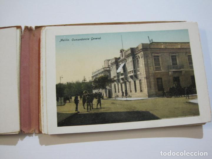Postales: MELILLA-BLOC DE FOTOGRAFIAS-SERIE A-EDICION BOIX HERMANOS-VER FOTOS(K-559) - Foto 9 - 219431091