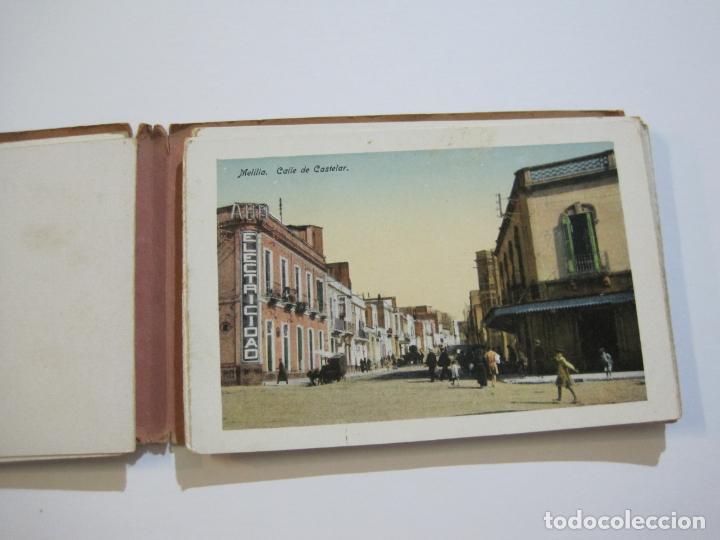 Postales: MELILLA-BLOC DE FOTOGRAFIAS-SERIE A-EDICION BOIX HERMANOS-VER FOTOS(K-559) - Foto 10 - 219431091