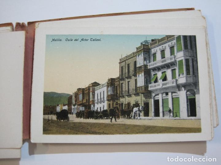 Postales: MELILLA-BLOC DE FOTOGRAFIAS-SERIE A-EDICION BOIX HERMANOS-VER FOTOS(K-559) - Foto 11 - 219431091